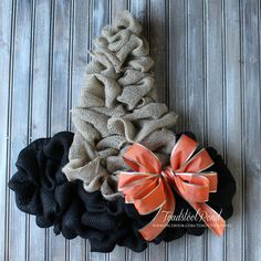 "Witch's Hat Wreath by Toadstool-Pond""Original Design """