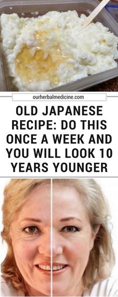 Old Japanese Recipe: Do This Once A Week And You Will Look 10 Years Younger - Herbal Medicine Baking Soda And Lemon, Lower Cholesterol, Herbal Medicine, Healthy Desserts, Japanese Food, Smoothies, Smoothie Recipes, Have Time, 10 Years