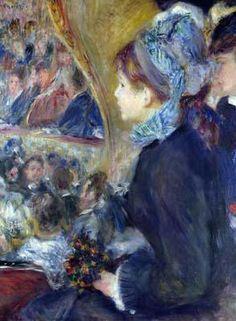 Renoir - At The Theatre