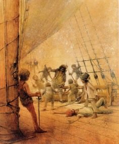 Robert Ingpen's Illustrations for 'Peter Pan an... - Book Artists and Their Illustrations - Quora
