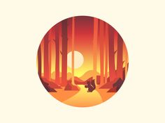 Scenery icon by Nanuo