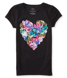 Kids' Jewel Heart Graphic T -