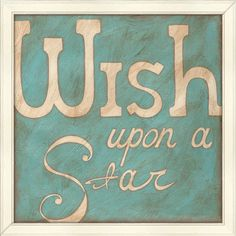 I pinned this Wish Upon a Star Framed Print from the Accents Under $75 event at Joss and Main!