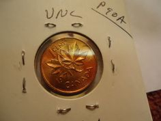 1971  //  UNC  RD .// CANADA PENNY   // M-403