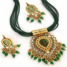 Kundan work was introduced in India by the Moguls and it was during the regime of Moguls that the craftsmen of Kundan jewellery located themselves in Rajasthan. They enjoyed royal patronage and Kundan jewellery became the symbol of royalty.