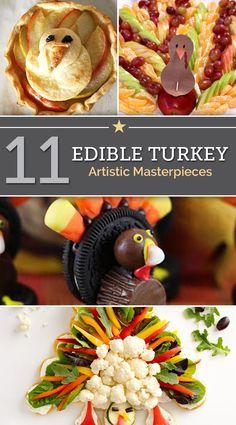 11 Edible Turkey Artistic Masterpieces | thegoodstuff