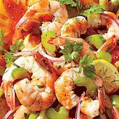 Spicy Pickled Shrimp - Southern Style Shrimp Recipes