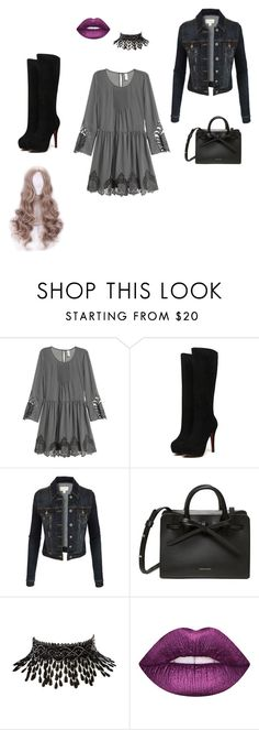 """Untitled #231"" by that-onefangirl ❤ liked on Polyvore featuring H&M, LE3NO and Amrita Singh"