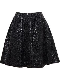 Shop Giambattista Valli A-line cloqué mini skirt in Browns from the world's best independent boutiques at farfetch.com. Over 1000 designers from 60 boutiques in one website.