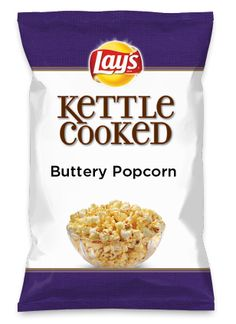 Wouldn't Buttery Popcorn be yummy as a chip? Lay's Do Us A Flavor is back, and the search is on for the yummiest flavor idea. Create a flavor, choose a chip and you could win $1 million! https://www.dousaflavor.com See Rules.