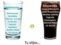 Bebe mucho líquido preferiblemente agua pero no abuses de las bebidas azucaradas, mejor evítalas. #IMEBA #MALLORCA