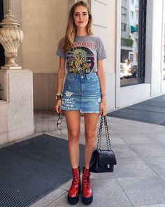 TREND ALERT: A t-shirt da sua banda de rock favorita da adolescência agora é tendência!