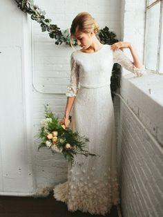 20 Wedding Dresses for a Boho Bride from Etsy | SouthBound Bride #bohoweddingdresses
