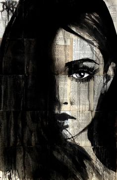 "Saatchi Art Artist LOUI JOVER; Drawing, ""true destiny"" #art"