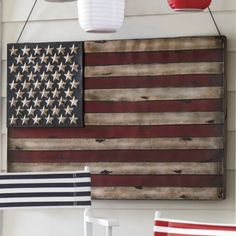American Flag Wall Art from Through the Country Door®