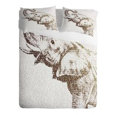 DENY Designs Home Accessories | Belle13 The Wisest Elephant Sheet Set