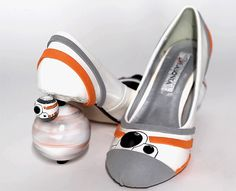 BB-8 High Heels Will Help Anyone Navigate the Desert Wastes - PopularMechanics.com