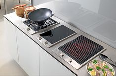 built in electric grill cooktop | Gaggenau Appliances Vario cooktops ...