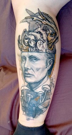Hannibal Tattoo on @Kamire0n