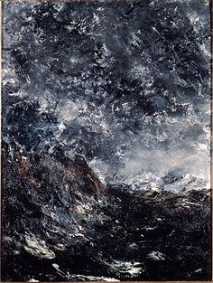 Más tamaños | Strindberg, August (1849-1912) - 1894 Marine Reef (Musee d'Orsay, Paris, France) | Flickr: ¡Intercambio de fotos!
