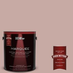 BEHR MARQUEE 1-gal. #700A-3 Pottery Clay Flat Exterior Paint