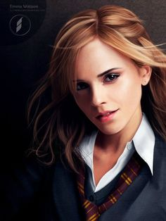 Digital painting of Emma Watson via @imgur | by namiociarz via @deviantarth ttp://bit.ly/It63T4