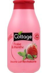 Cottage - Douche Lait Revitalisante - Fraise Menthe 1.7€