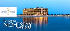 Enjoy #RamadanNightStay in a 5- Star Resort Starting from 475 AED. 1 Night Stay in a Superior, Premium, 2 Bedroom or Marjan Family Suite with #Sohur or #Breakfast + #Iftar, #Lunch, or #Dinner at Marjan Island Resort & Spa Ras Al Khaimah.  To check/buy the #deal, click on the below link…