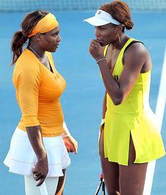 Serena and Venus Williams 2010 Australian Open