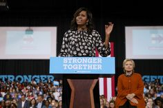 Michelle Obama gave a great speech in regards to woman and working woman.  She really made an impact on many women as a first lady and will always be remembered as a role model to all. She embodies feminism and power for all ages and race for women. (Kaysha M.P)
