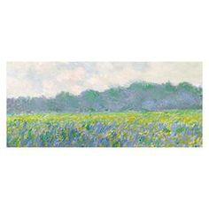 Field of Yellow Irises Giverny | Nebraska Furniture Mart