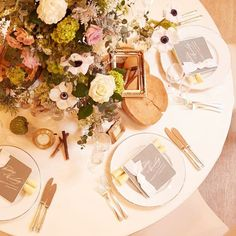 Botanical Wedding, When You Love, Pretty Little, Table Settings, Table Decorations, Home Decor, Wedding Ideas, Weddings, Instagram