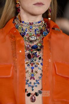 Spring-Summer 2015: Accessory Trends // Весна-лето 2015: тренды в украшениях  #Accessory #trends #fasionwomancom #fashion #jewelry