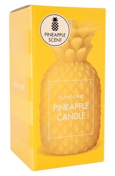 cute pineapple candle