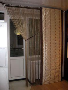 кисея шторы в интерьере фото