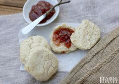 "Vegan Gluten and Dairy Free ""Buttermilk"" Biscuits that taste like the real thing! {Beard andBonnet}"