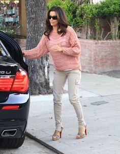 Eva Longoria Shoes & Outfit