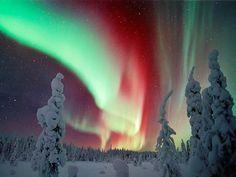 Aurora Borealis, Lapland, Finland. © Luhta Minden