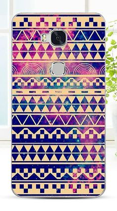 Case For Huawei honor 5X Colorful Printing Drawing Transparent Plastic Phone Cover For Huawei honor 5X Hard Phone Cases