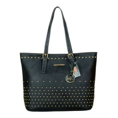 Michael Kors Jet Set Travel Degrade Medium Black Totes Can Be The Best Seller You Have Ever Seen!