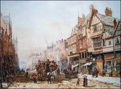 E Chester Painting ... chester see more louise rayner s chester paintings chesterwalls info