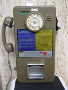 Telefono a gettoni, anni 70