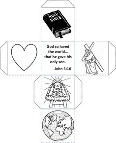 A John 3:16 Craft for Kids