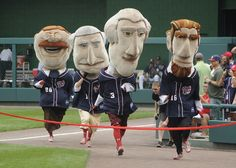 Catch a Washington Nationals baseball game at Nats Park (1500 South Capitol St SE, 2.5 mi from conference hotel), complete with racing presidents