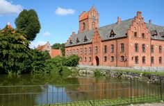 Herlufsholm skole og Gods nord for Næstved