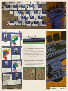 For the first 4-5 weeks of school, my class talked about online safety and digital citizenshsip. One of our projects was to create digital footprints. They came up with 5 things they would want people to see if they researched their name sometime in the future. They were definitely dreaming big, and the project turnetd out great!