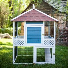 Advantek Pagoda Rabbit Hutch - 21600BE