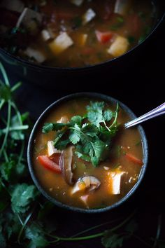 Feasting at Home : Vietnamese Hot and Sour Tamarind Soup