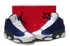 c5e735478de71d Air Jordan 13 Flint French Blue University Blue Flint Grey 414571-401
