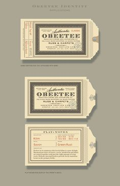 Obeetee identity/print collateral   Designers: Sandstrom Partners - http://www.sandstrompartners.com/